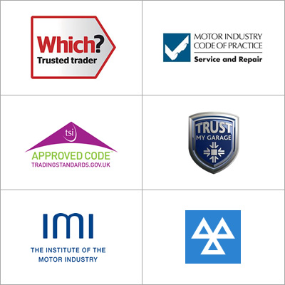 Garage Express Accreditations